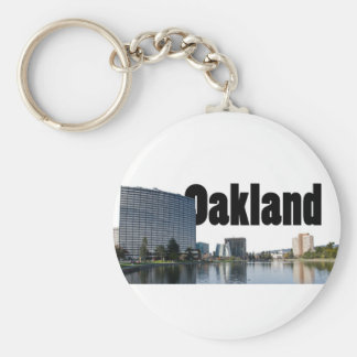 Oakland California with Oakland in the Sky Key Ring