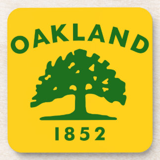 Oakland Clalifornia 1852 Beverage Coaster