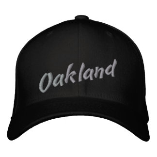 Oakland Embroidered Baseball Caps