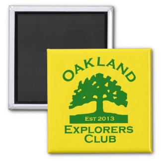 Oakland Explorers Club Magnet