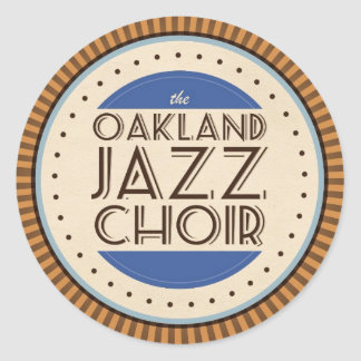 Oakland Jazz Choir Sticker