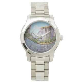 Oakland Jewel Chrome Bracelet Watch