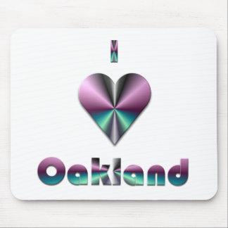 Oakland -- Purple & Turquoise Mousepads