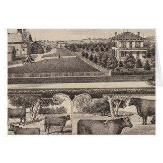 Oakland Stock Farm, Kansas Card