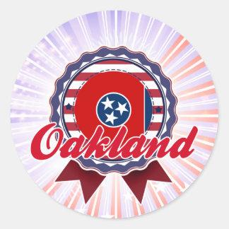 Oakland, TN Stickers