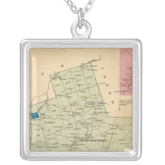 Oakland Township Silver Plated Necklace