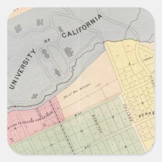 Oakland, vicinity 16 square sticker