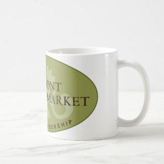 Oakmont Farmers Market Logo Basic White Mug