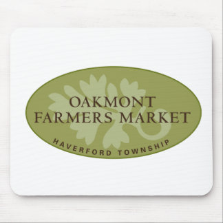 Oakmont Farmers Market Logo Mouse Pad