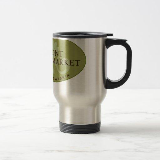 Oakmont Farmers Market Logo Mugs