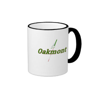Oakmont-Golf Ringer Mug