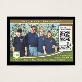 Oakwood Fruit Farm Traceable Shelftalker
