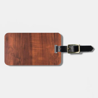 OAKWOOD Wood Wooden Pattern graphic Luggage Tag
