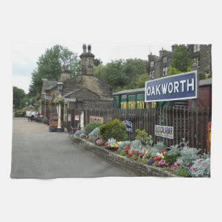 Oakworth Railway Station Kitchen Towel