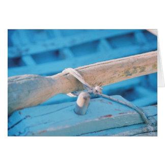 oar greeting card