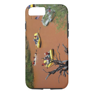 Oar powered rafts turn into the Colorado River iPhone 8/7 Case