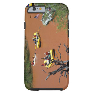 Oar powered rafts turn into the Colorado River Tough iPhone 6 Case