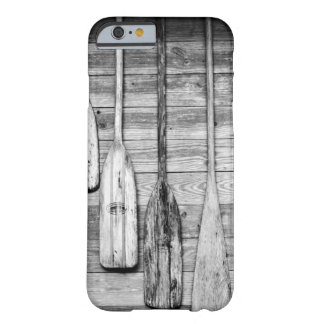 Oars are hung on wooden shed in Big Cypress, 2 Barely There iPhone 6 Case