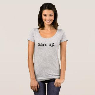 oars up. tee: women scoop neck T-Shirt