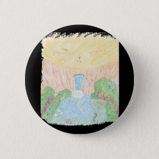 Oasis 6 Cm Round Badge