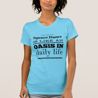 Oasis in daily life (black print) T-Shirt