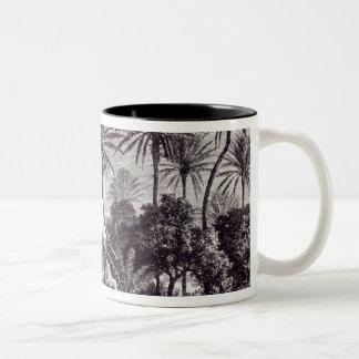Oasis of Gafsa: Tunis Two-Tone Coffee Mug