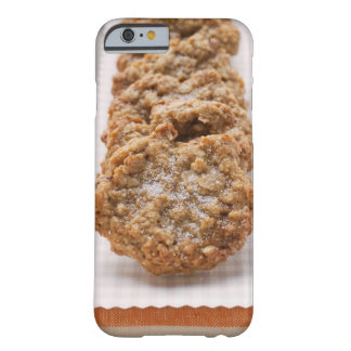 Oat biscuits on plate barely there iPhone 6 case