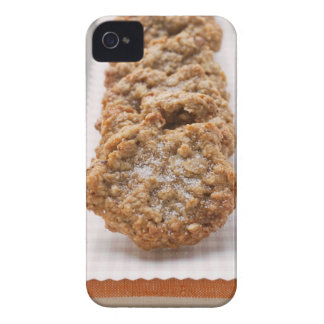 Oat biscuits on plate Case-Mate iPhone 4 case