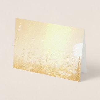 Oats in the Sun Foil Card