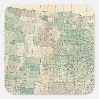 Oats per acre sown square sticker