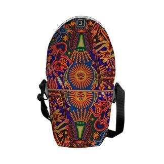 Oaxaca Mexico Mexican Mayan Tribal Art Boho Travel Commuter Bags