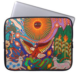 Oaxaca Mexico Mexican Mayan Tribal Art Boho Travel Laptop Sleeve