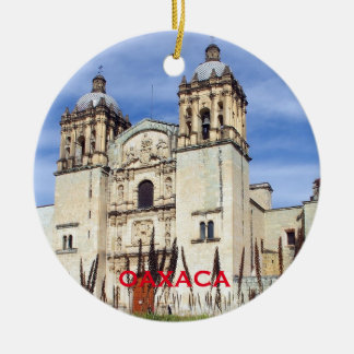 Oaxaca Mexico Scenic Christmas Ornament