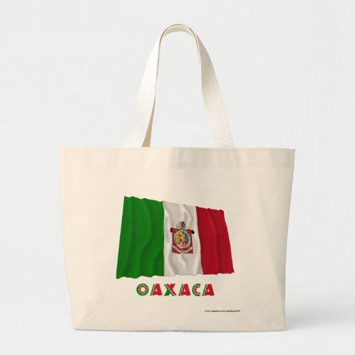 Oaxaca Waving Unofficial Flag Tote Bags