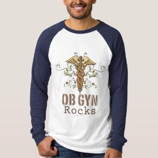 OB GYN Rocks Baseball Tee