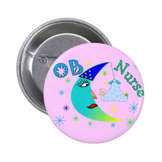 OB Nurse gifts 6 Cm Round Badge