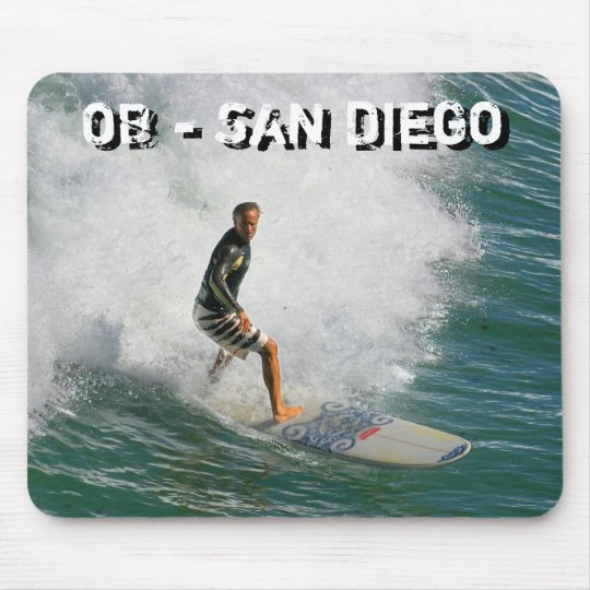 OB - San Diego MOUSE PAD