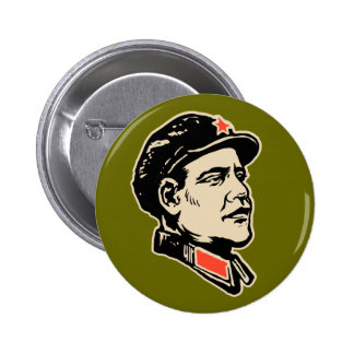 Oba Mao Button Pins