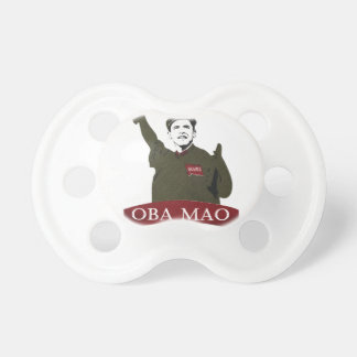 OBA MAO Obama + Statue of Liberty Parody Baby Pacifiers