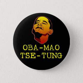 Oba Mao Tse Tung 6 Cm Round Badge