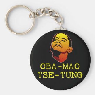 Oba Mao Tse Tung Keychain