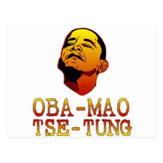 Oba Mao Tse Tung Postcard