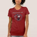 """OBA Red """"Property of"""" ladies Metal... - Customised"""