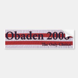 obaden sticker car bumper sticker