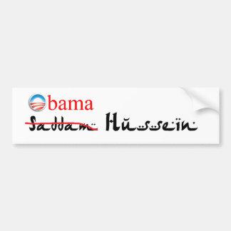 Obam Hussein Bumper Sticker Car Bumper Sticker