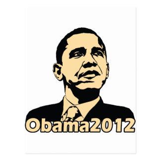Obama2012 Postcard