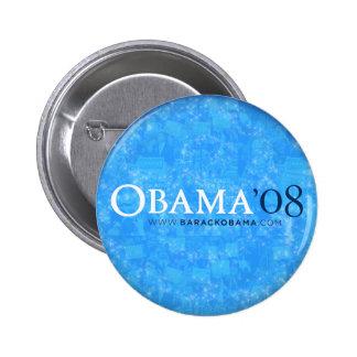 Obama '08 Blue Button