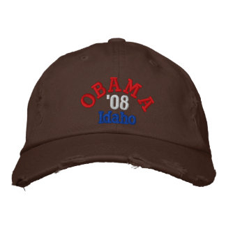 Obama '08 Idaho Hat