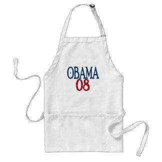 obama 08 plain standard apron