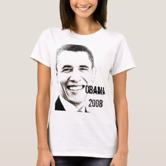 Obama '08 with Website T-Shirt